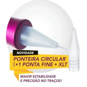 Agulha Dermomag 1 ponta + Ponteira