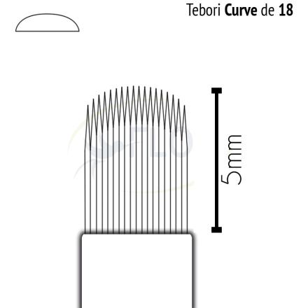 Caneta Tebori Can Can Flox Curve 18-5