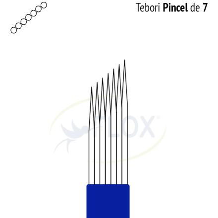 Caneta Tebori Can Can Flox  Pincel 7