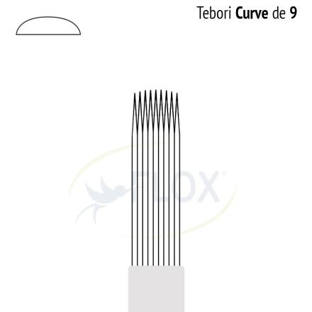 Caneta Tebori Can Can Flox Curve 9