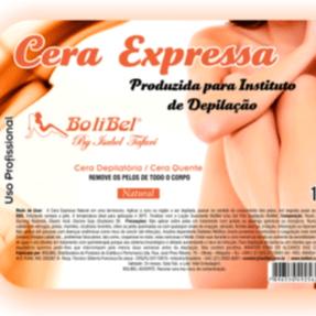 Cera Expressa Depilatória Bolibel 1kg
