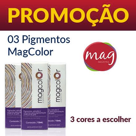 Kit Mag Color 3 Cores