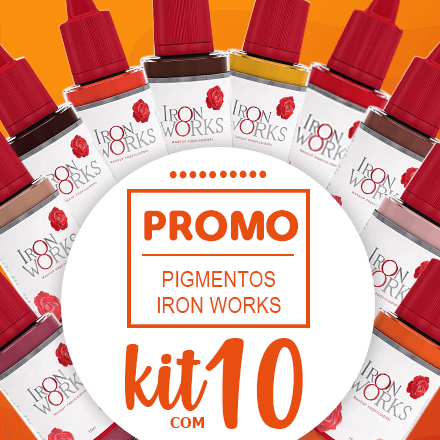 Kit Pigmentos Iron Works - 10 cores