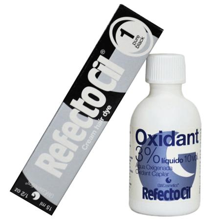 Kit Refectocil Preto 1.0 - 50ml