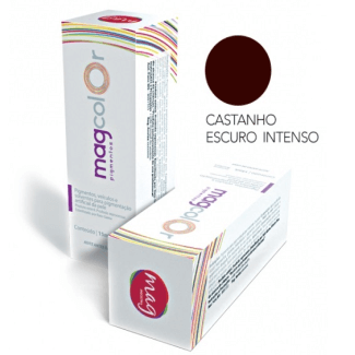 Mag Color Castanho Escuro Intenso 15ml