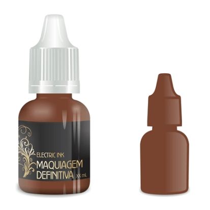 Pigmento Electric Ink Marrom Terra 8ml