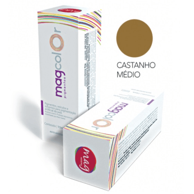 Pigmento Mag Color Cast Médio 15ml