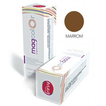 Pigmento Mag Color Marrom 15ml
