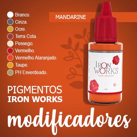 Pigmentos Iron Works Kit 3 cores