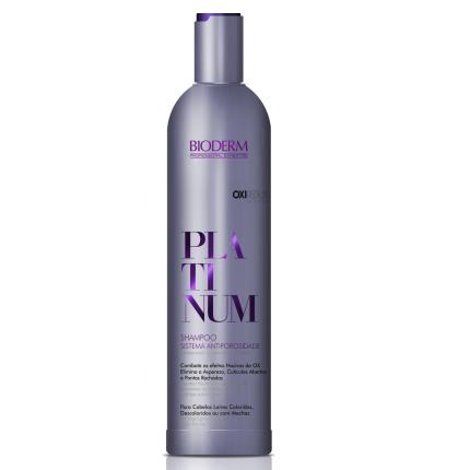 Platinum Shampoo Antiporosidade- 400 ml