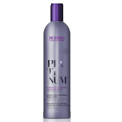 Platinum Shampoo Corretivo Desamarelador