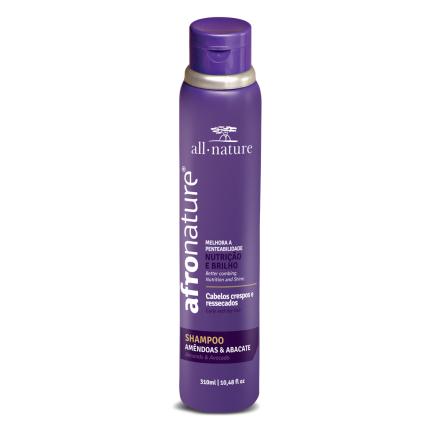 Shampoo Amêndoas e Abacate 310 ml