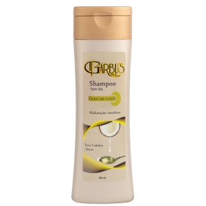 Shampoo Óleo de Coco 350ml Garbu's Hair