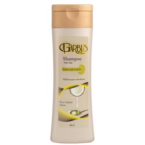 Shampoo Óleo de Coco 350ml Garbu's Hair